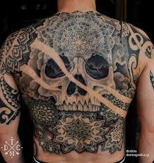 14 best back images on cool tattoos skull
