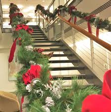 Banister Funeral Home Holiday Decor And Arrangements For Interior And Exterior Office Spaces