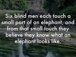 3 Blind Men And The Elephant Life Of Pi By Alison Eichinger