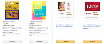 build a gift cards ended gift card deals 50 children s place build a