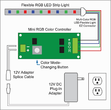 project ideas strip light wiring diagram diagrams led