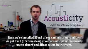 acoustic myths egg cartons as acoustic panels youtube