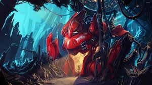 red robot wallpaper fantasy wallpapers 25152