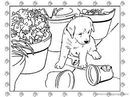 puppy coloring pages 5234 bestofcoloring