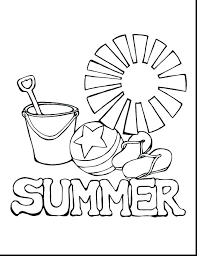 beach coloring pages preschool fun summer coloring pages kids summer coloring pages preschool