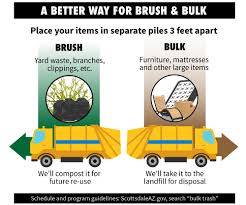 scottsdale brush bulk collection