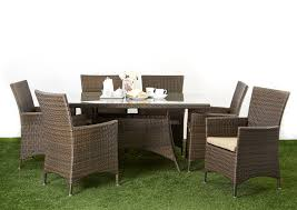 6 seater patio furniture set outdoor dining sets boulevard outdoor inspirations