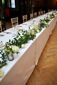 cheap garlands for weddings the 25 best table garland ideas on wedding table