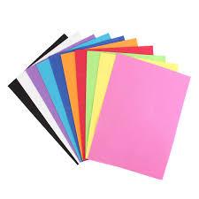 10pcs thick multicolor sponge foam a4 paper fold scrapbooking