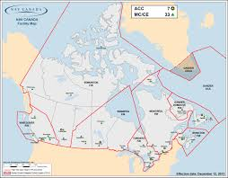 Northern Canada Map by Nav Canada Careers Our Regions