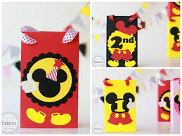 mickey mouse gift bags mickey mouse treat bags mickey birthday decorations mickey