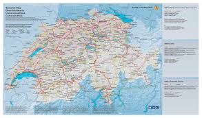 Switzerland Map Europe by Large Detailed Transport Map Of Switzerland Switzerland Europe