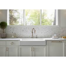 Kohler Whitehaven Sink 36 by Kohler K 6488 0 Whitehaven White Apron Front Single Bowl Kitchen