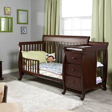 convertible crib and changing table baby crib with changing table experience the elegance of black ba