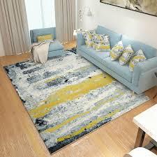 tapis pour chambre abstrait encre peinture tapis pour salon moderne tapis pour