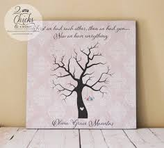 baby shower fingerprint tree baby shower fingerprint tree sign guest book alternative