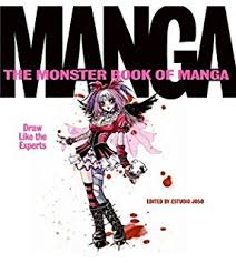 amazon com monster book of manga drawing 150 step by step
