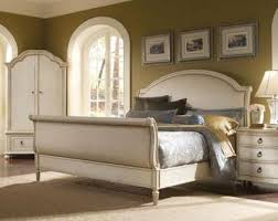 Upholstered Sleigh Bed King California King Size Upholstered Sleigh Bed With Nail Head Trim By
