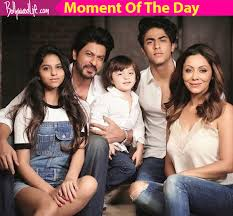 shah rukh khan breaks the with these glorious family