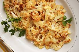 cauliflower roasted with lemon dijon butter