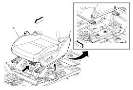 repair instructions driver or passenger seat removal and