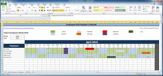 staff holiday planner excel template free employee and shift schedule templates shift rotation template