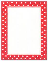 polka dot stationery hokey pokey stationery letterhead myexpression 16925