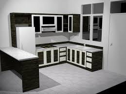 black and white kitchen cabinets home design