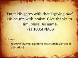 give thanks practical help for disciples