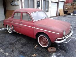 1959 renault dauphine know a little french 1963 renault dauphine