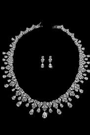 vintage necklace earrings images Royal vintage bridal jewelry set perfect accent jpg