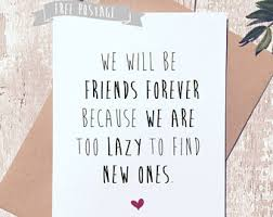 funny friend card etsy