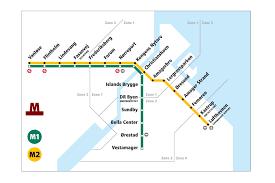 Copenhagen Metro Map by Getting Around U2013 University Of Copenhagen