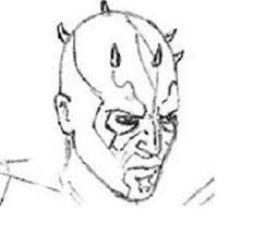 how to draw darth maul drawingforall net