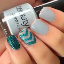 58 amazing nail designs for short nails pictures glitter nail