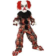 child halloween costumes uk childrens scary clown tween costume halloween 36161
