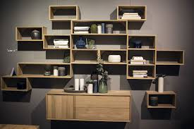 Wall Shelving Units 55 Wall Mounted Open Shelves Offering Space Savvy Modularity