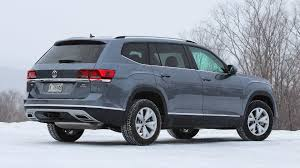 black volkswagen atlas 2018 volkswagen atlas first drive a firm handshake
