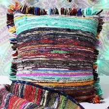 Home Decor Pillows Rug Throw Pillows Vintage Boho U0026 Unique Kilim Woven Cushion Covers