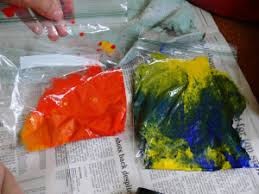mixing paint colors sunshineonwater