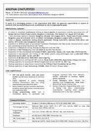 Core Java Resume Anupam Chaturvedi Resume Latest