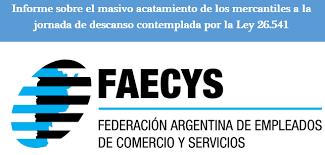 media jornada empledo de comercio 2016 faecys federación argentina de empleados de comercio y servicios