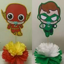Batman Baby Shower Decorations Baby Shower Theme Centerpieces Adrianas Creations
