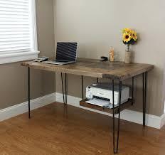 Industrial Writing Desk by Industrial Looking Desks U2013 Ourtown Sb Co