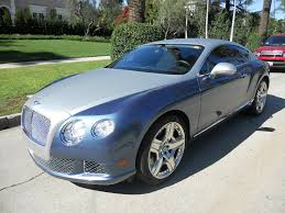 bentley coupe blue bentley continental gt rentals los angeles vanityexotics com