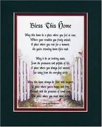 registry for housewarming bless this home a housewarming gift touching 8 10 poem
