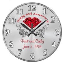 Personalized Picture Clocks Grandparents Wall Clocks Zazzle