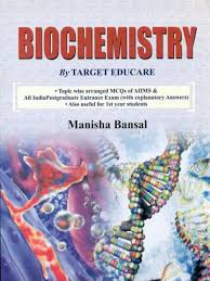 biochemistry by target educare topic wise arranged mcqs of aiims