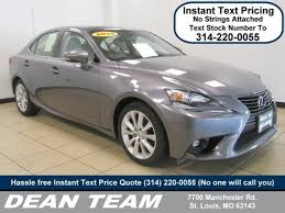 st louis lexus used 2015 lexus is 250 for sale in st louis mo near manchester