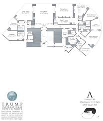 trump tower chicago n wabash floor plans views plan notable house